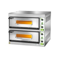 ELECTRIC OVEN FOR PIZZA BICAMERA mod.FES 6 + 6 FOR 12 PIZZAS