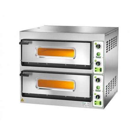 Forno elettrico per pizzeria bicamera mod fes 6 6 per 12 pizze - Forno elettrico microonde ...