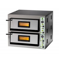 ELECTRIC OVEN FOR PIZZA BICAMERA mod.FME 4 + 4 FOR 8 PIZZAS