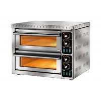 ELECTRIC OVEN FOR PIZZA BICAMERA mod.MD1 + 1 FOR 2 PIZZAS