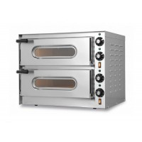 ELECTRIC OVEN FOR PIZZERIA BICAMERA mod.MINI G 1 + 1 FOR 2 PIZZAS