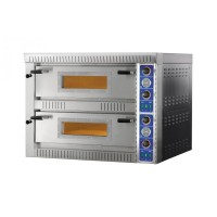 ELECTRIC OVEN FOR PIZZA BICAMERA mod.SB 4 + 4 FOR 8 PIZZA