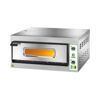 SINGLE CHAMBER ELECTRIC PIZZA OVEN mod.FES 6 FOR 6 PIZZA