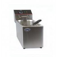 ELECTRIC DEEP FRYER COUNTER PROFESSIONAL SINGLE BOWL 4 LITERS 2000W