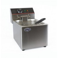 ELECTRIC DEEP FRYER COUNTER PROFESSIONAL SINGLE BOWL 8 LITRES 3250W
