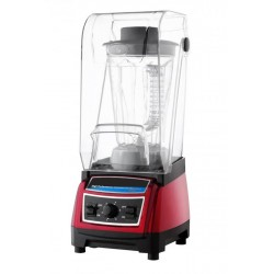 PROFESSIONAL BLENDER WITH SOUNDPROOF SILVER ITALIA 1800W - 2.7 LITERS