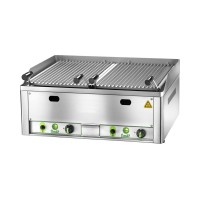 DOUBLE LAVA STONE GRILL - 2 BURNERS