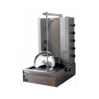 GYROS A GAS 60 Kg DONER KEBAB / KEBAP - 5 HORIZONTAL BURNERS - LOW ENGINE