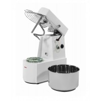 SPIRAL MIXER WITH FOLDING HEAD AND REMOVABLE TANK 25 Kg - 32 liters - SINGLE PHASE 230V