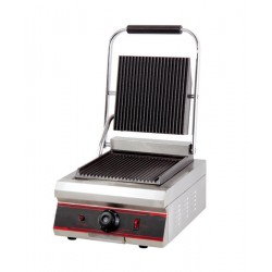 PLATE BAR SINGLE, RIBBED CAST-iron PANINI 1800W