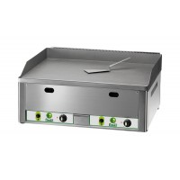 DOUBLE GAS FRY TOP PLATE - SMOOTH STEEL TOP