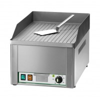 SINGLE ELECTRIC FRY TOP PLATE - STRIPED STEEL TOP
