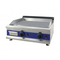 PLATE FRY-TOP, PROFESSIONAL GAS DOUBLE - FLOOR STEEL SMOOTH