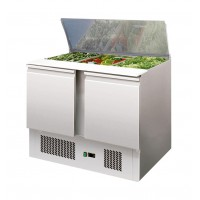 SALADETTE REFRIGERATED WITH FLAT POLYETHYLENE FOR 3 GN 1/1 CONTAINERS
