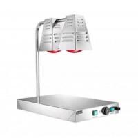 WARMING cabinet, SLIM LINE, 2 LAMPS 250W + WARM FLOOR 60x40 250W