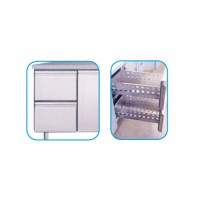 SET OF 2 DRAWERS FOR REFRIGERATED TABLES 600