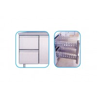 SET OF 2 DRAWERS FOR REFRIGERATED TABLES LINE 700 POSITIVE