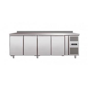 banco frigo inox negativo linea 700 gn1 1 4 porte con alzatina. Black Bedroom Furniture Sets. Home Design Ideas