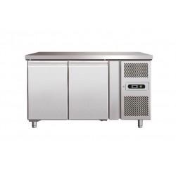 banco frigo inox positivo linea 600 gn 1 1 2 porte. Black Bedroom Furniture Sets. Home Design Ideas