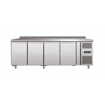 banco frigo inox positivo linea 700 gn 1 1 4 porte con. Black Bedroom Furniture Sets. Home Design Ideas