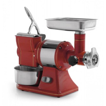 meat MINCER GRATER RETRO TG12 R - 230V single PHASE - GRINDING CAST iron AND ROLL STEEL