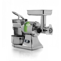 MINCER GRATER TG 12 - 230V SINGLE PHASE - GRINDING AND ROLLER-STAINLESS STEEL