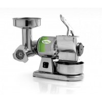 MINCER GRATER TG 8 - GRINDING THE ALUMINUM AND ROLL STEEL