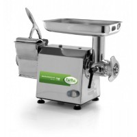 MINCER GRATER TGI 12 - WITH BOX, STAINLESS STEEL - 400V THREE PHASE - GRINDING AND ROLLER-STAINLESS STEEL