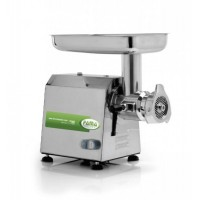 MEAT GRINDER TI 22 - WITH BOX, STAINLESS STEEL - 230V SINGLE PHASE - GROUP GRINDING STAINLESS STEEL