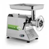 MEAT MINCER TI 32 - WITH BOX, STAINLESS STEEL - 230V SINGLE PHASE - GROUP GRINDING STAINLESS STEEL
