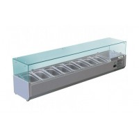 REFRIGERATED DISPLAY FOR PIZZA - 8 GN 1/3