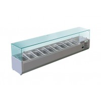 REFRIGERATED DISPLAY FOR PIZZA - 9 GN 1/4