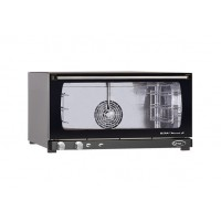 CONVECTION OVEN 3 TRAYS 600x400 WITH HUMIDIFIER - 3.3 kW mod. MANUAL HUMIDITY