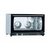 CONVECTION OVEN 4 TRAYS 600x400 WITH HUMIDIFIER - 6.5 kW mod. MANUAL HUMIDITY