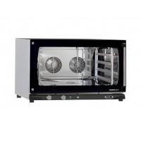 FORNO A CONVEZIONE 4 TEGLIE 600x400 CON UMIDIFICATORE – 6,5 kW mod. MANUAL MATIC