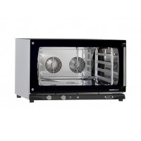 CONVECTION OVEN 4 TRAYS 600x400 WITH HUMIDIFIER - 6.5 kW mod. MANUAL MATIC