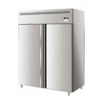 armadio frigo inox fc ventilato negativo 2 porte 1300 litri silver italia. Black Bedroom Furniture Sets. Home Design Ideas