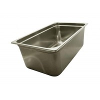 PAN GASTRONORM STAINLESS steel GN 1/1 20 cm HEIGHT